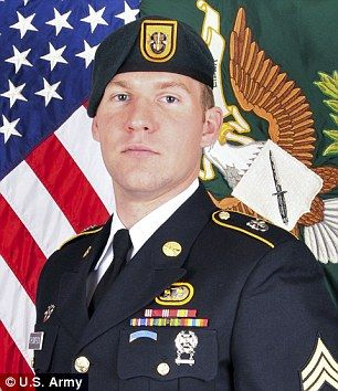 9ff12de8c243e Fallen hero  The Pentagon identified the US soldier who was killed in  Afghanistan by a roadside bomb Tuesday as 28-year-old Army Staff Sgt.  Matthew V. ...