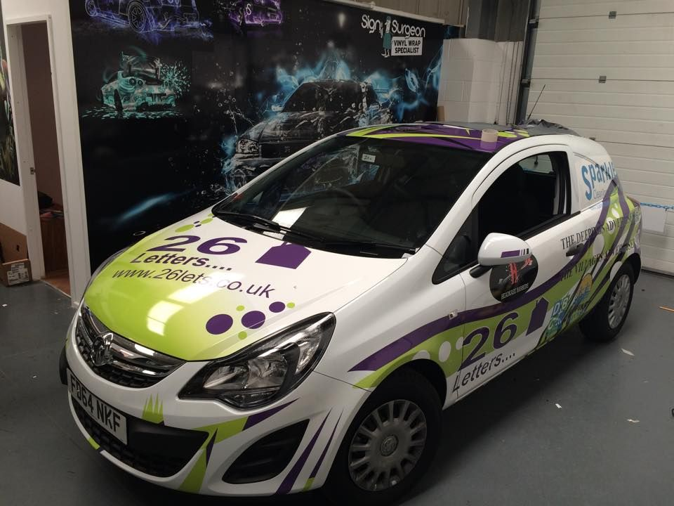 Car Graphics Stickers And Vinyl Wraps By Sign Surgeon - Custom car vinyl stickers uk