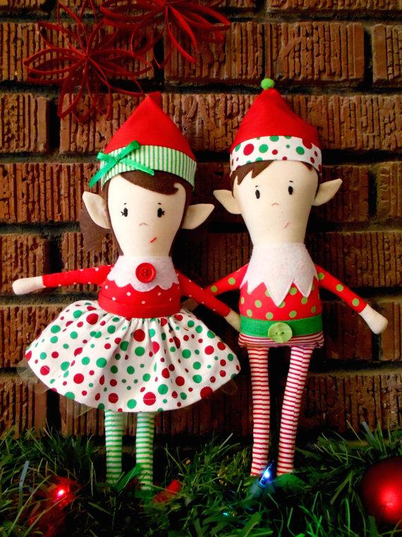 9 Cutest Christmas Elf Sewing Patterns Sewing Pinterest Elves