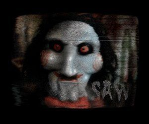 saw the movie jigsaw spooky scenes clings halloween decoration by paper magic 271 saw