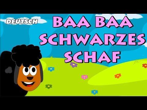▷ Baa Baa Schwarzes Schaf (Baa Baa Black Sheep) | German