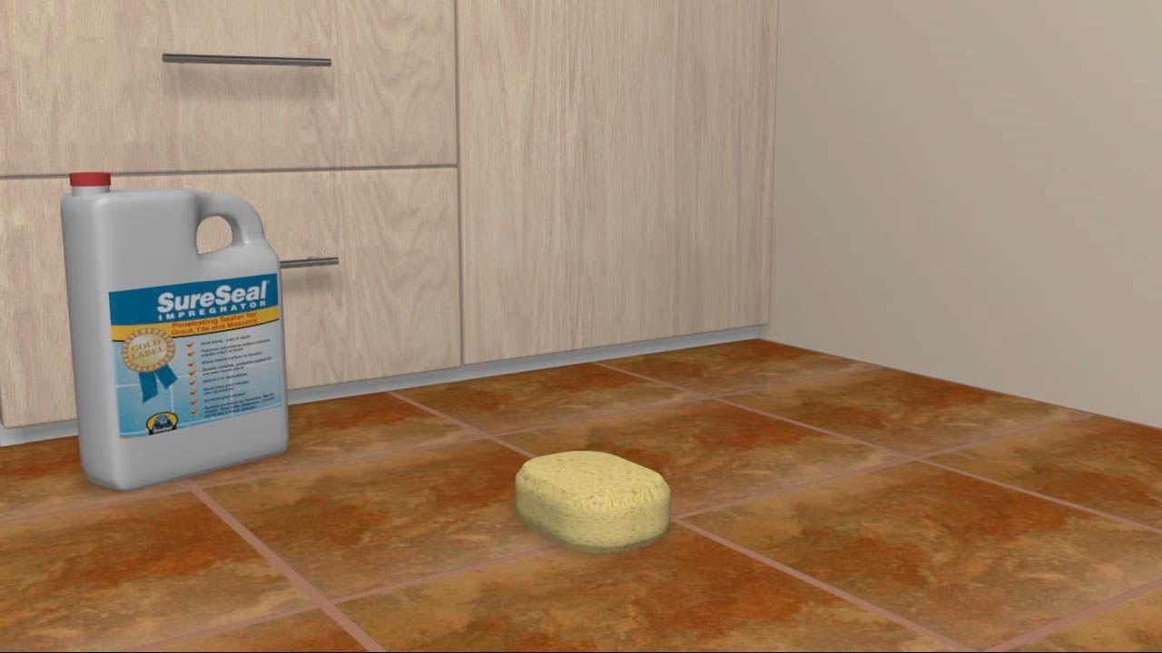 Grout a Tile Floor Tile floor, Ceramic floor tiles