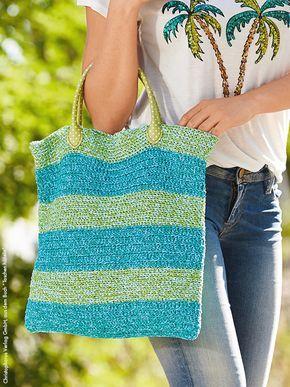 Sommer Tasche Einfach Selber Häkeln Pinterest Heimisch Strände