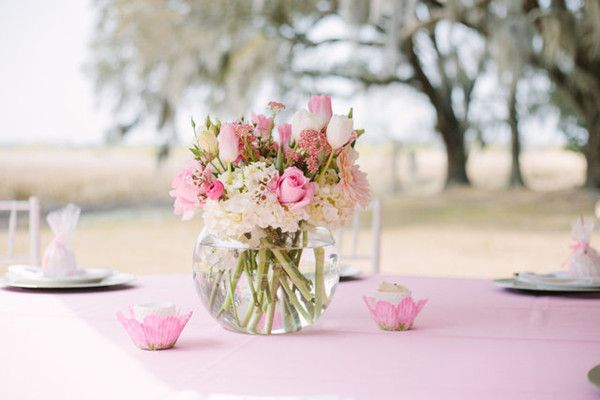 Its A Girl Pink Baby Shower Baby Shower Ideas Pinterest Baby