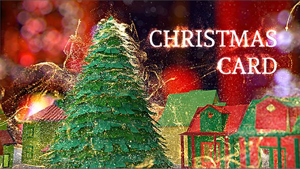 Christmas Card After Effects Template Tree Magic Download Https Videohive Net Item Christmas Card 18951314 Ref Pxcr Christmas Cards Christmas Cards