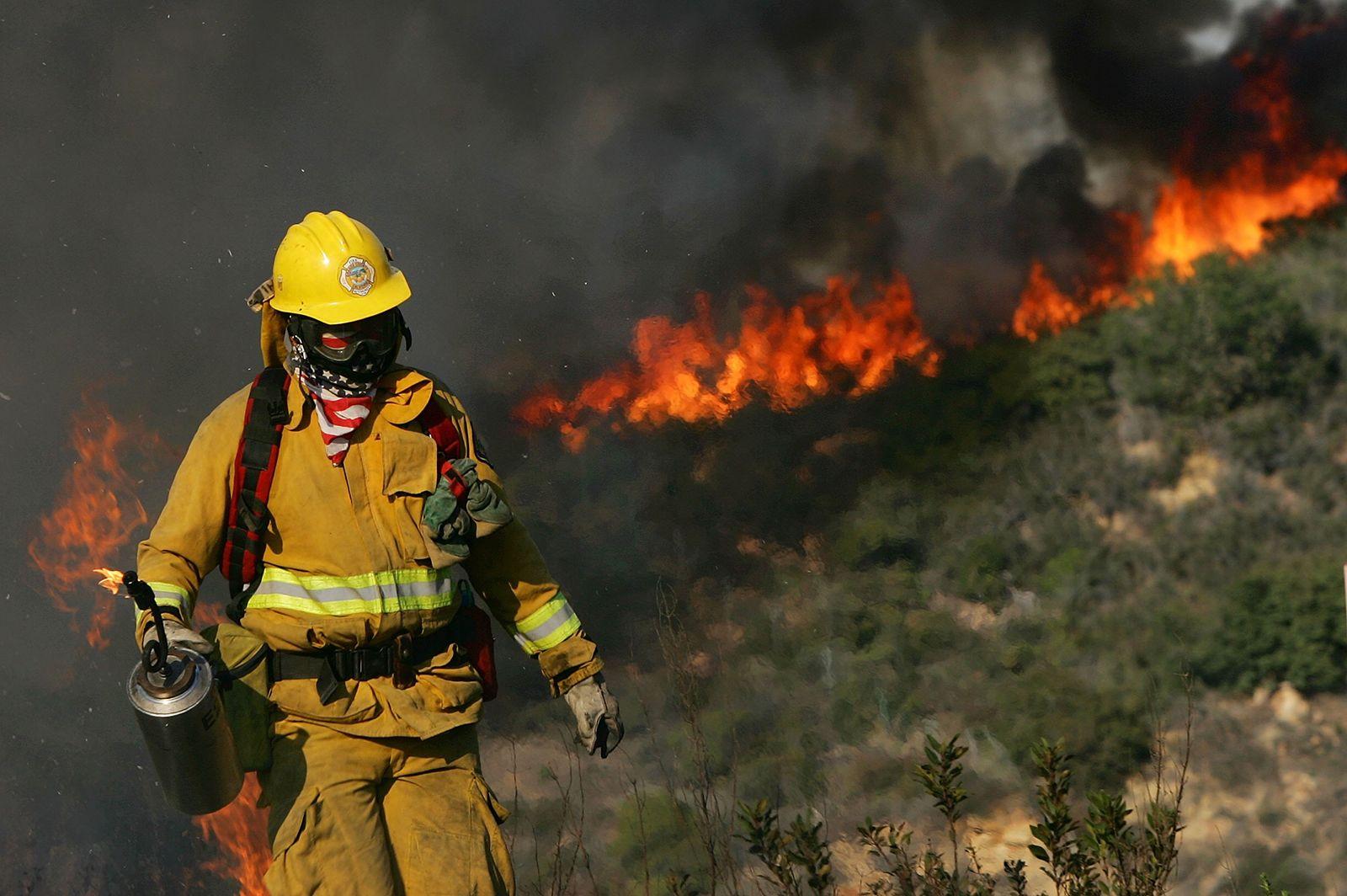 Southern California Wildfires, 2006. ESS Striketeam