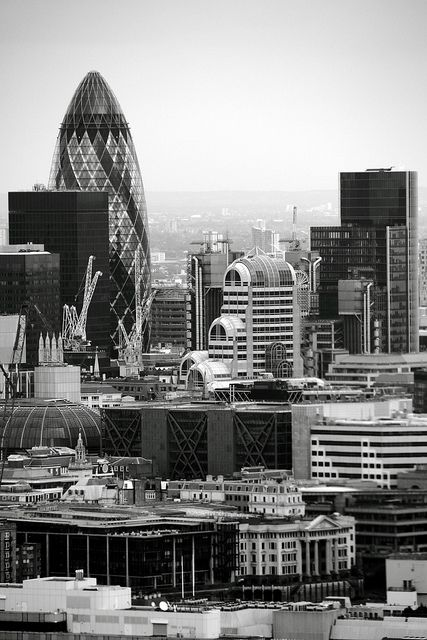 London Skyline from the famous London Eye... another one of my very own