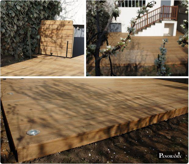 terrasse bois exotique ipé asnières 92 Aménagement extérieur cours