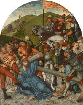 Christ Carrying the Cross - Lucas Cranach the Elder