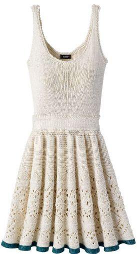 Crochet dress. Chanel,