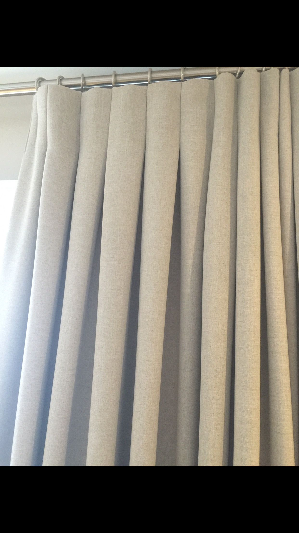 inverted pleats window curtain flax window treatments white  and navy  color block pure Linen Custom  made  Curtains Panel many  colors