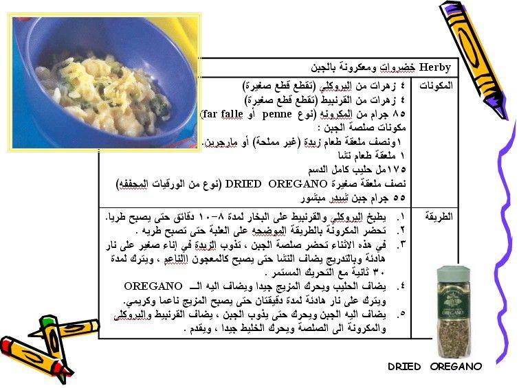 اكلات و وجبات شهية و لذيذة و سريعة للاطفال بالصور قسم الأسرة و تربية الاطفال صحة و غذاء الطفل Kids Meals Kids Recipes How To Dry Oregano