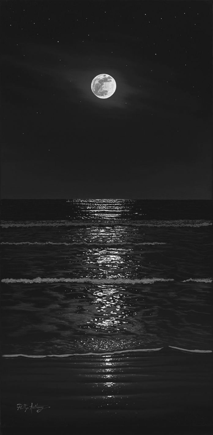 The Art Of Phillip Anthony Moonlight Photography Moon Photography Sky Aesthetic