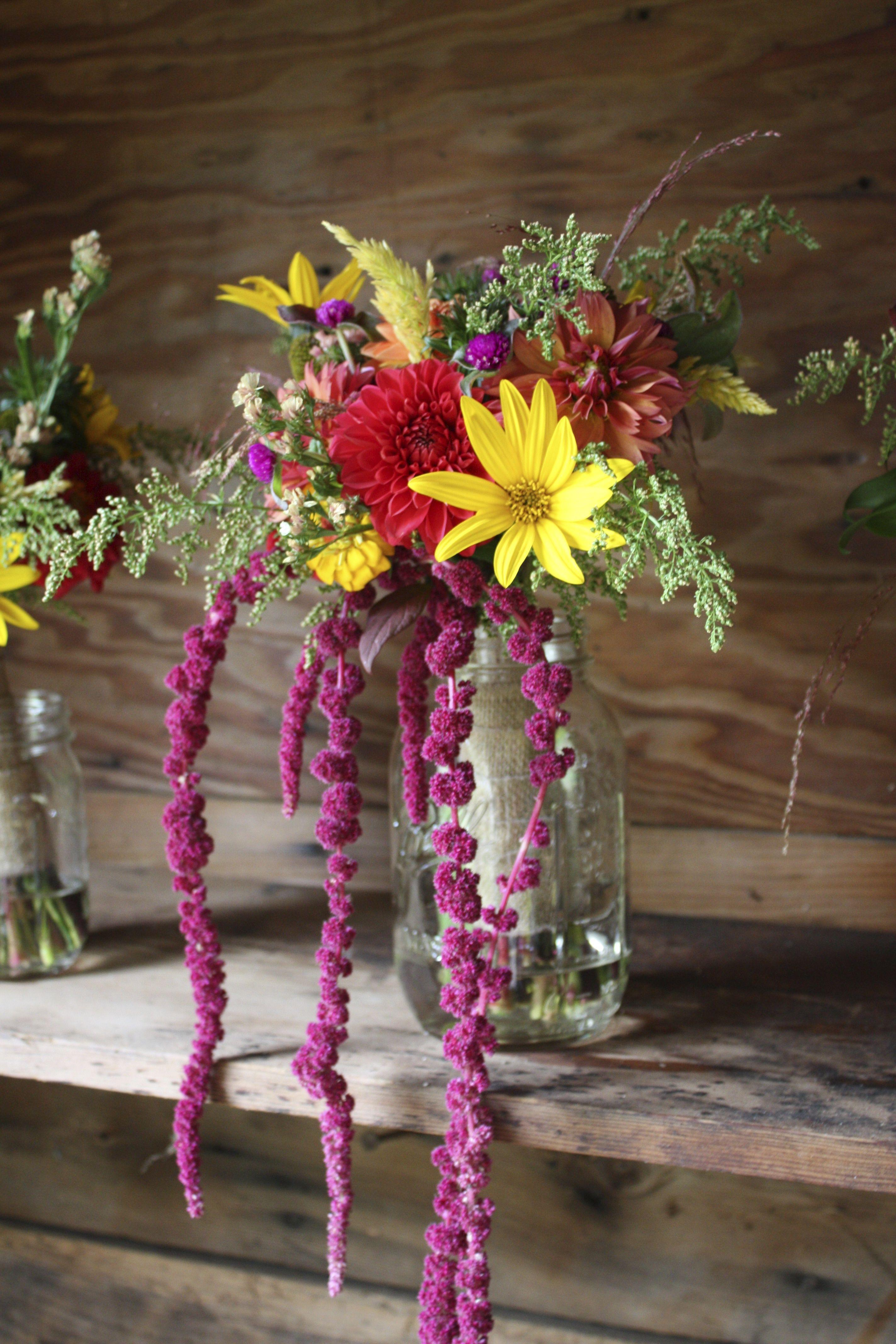 Fall bridal bouquet. Natural, bohemian. Autumn wedding