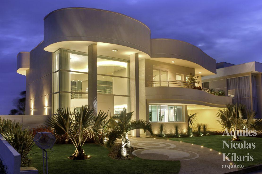 Arquiteto - Aquiles Nícolas Kílaris - Projetos Residenciais - Casa ...