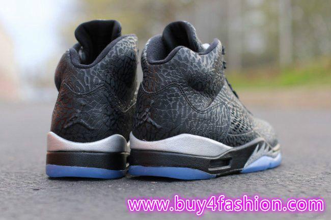 Air Jordan 3LAB5 Black Metallic Silver instagram:http://instagram.com/
