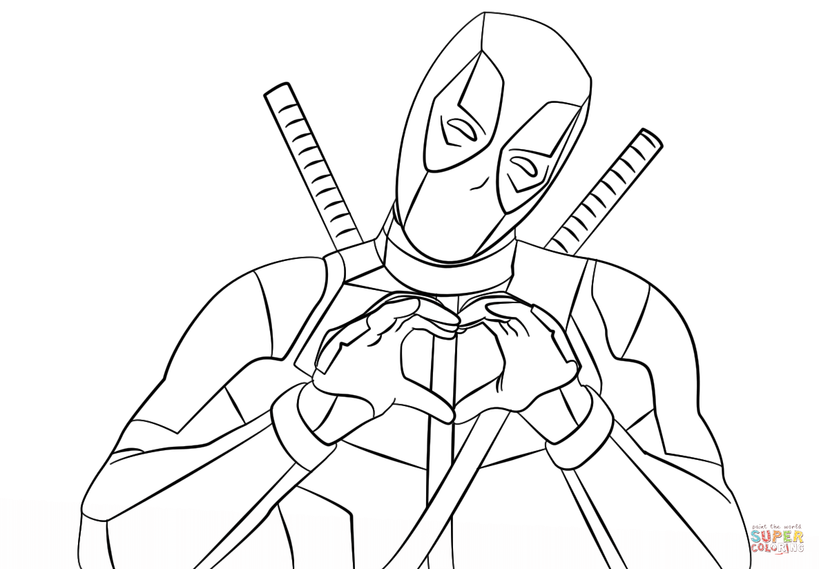 Deadpool Coloring Pages The Sun Flower Pages In 2020 Superhero Coloring Pages Avengers Coloring Marvel Coloring