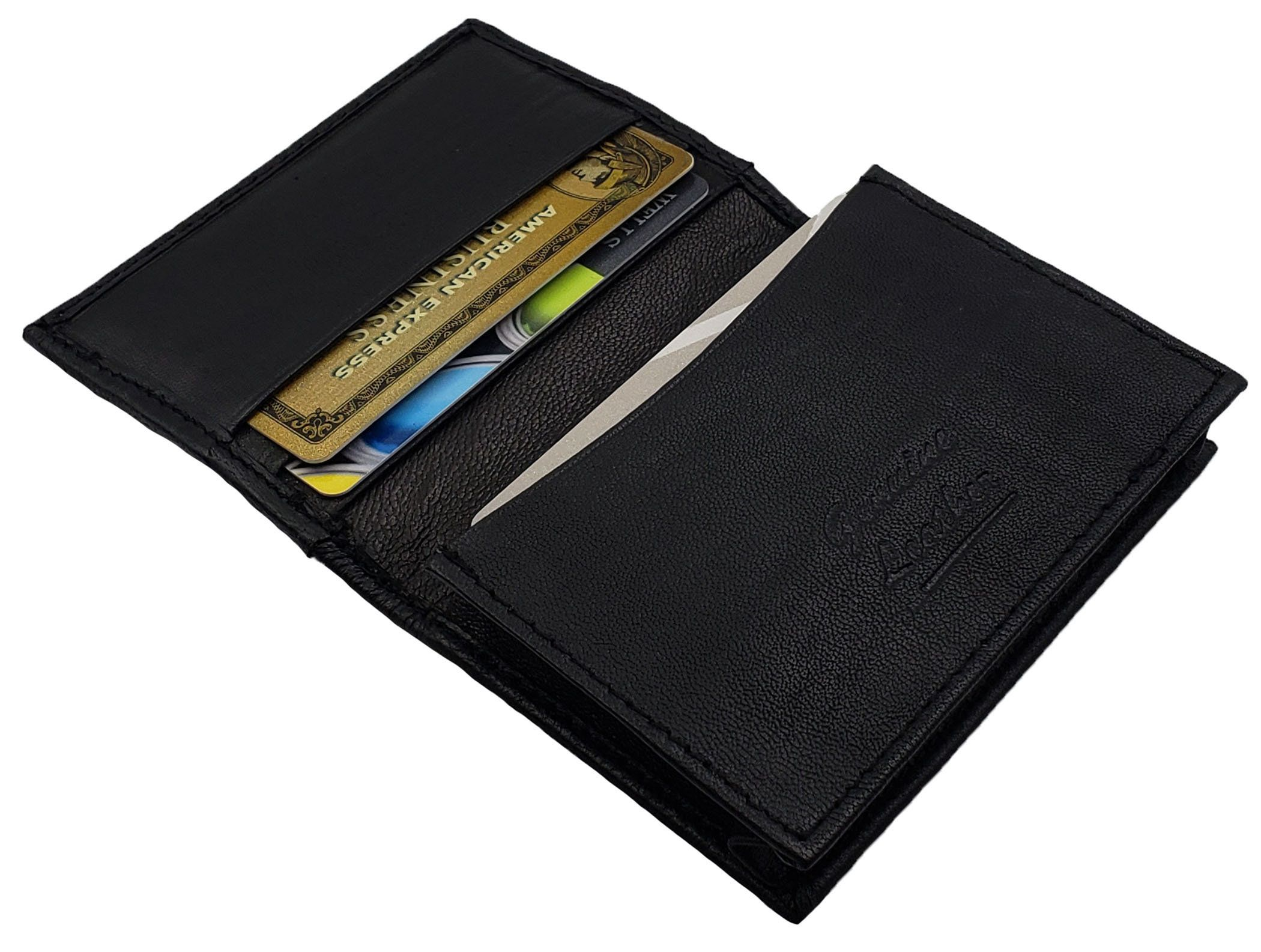 credit card wallet leather