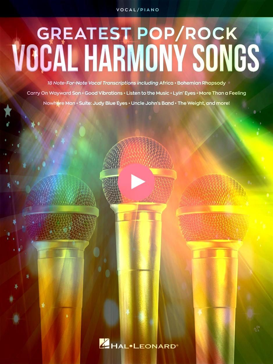 PopRock Vocal Harmony SongsâŽGreatest PopRock Vocal Harmony Songs Lady Createalot A GOLDMINE of FREE Online Music Education games videos and printables Greatest Pop...