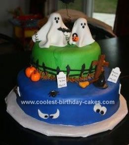Coolest Halloween Cake Halloween cakes Homemade halloween and