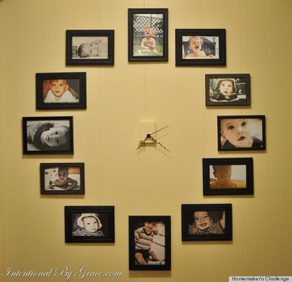 LOOK: 7 Cool Clocks You Can Make Yourself | Clock ideas, Diy clock ...