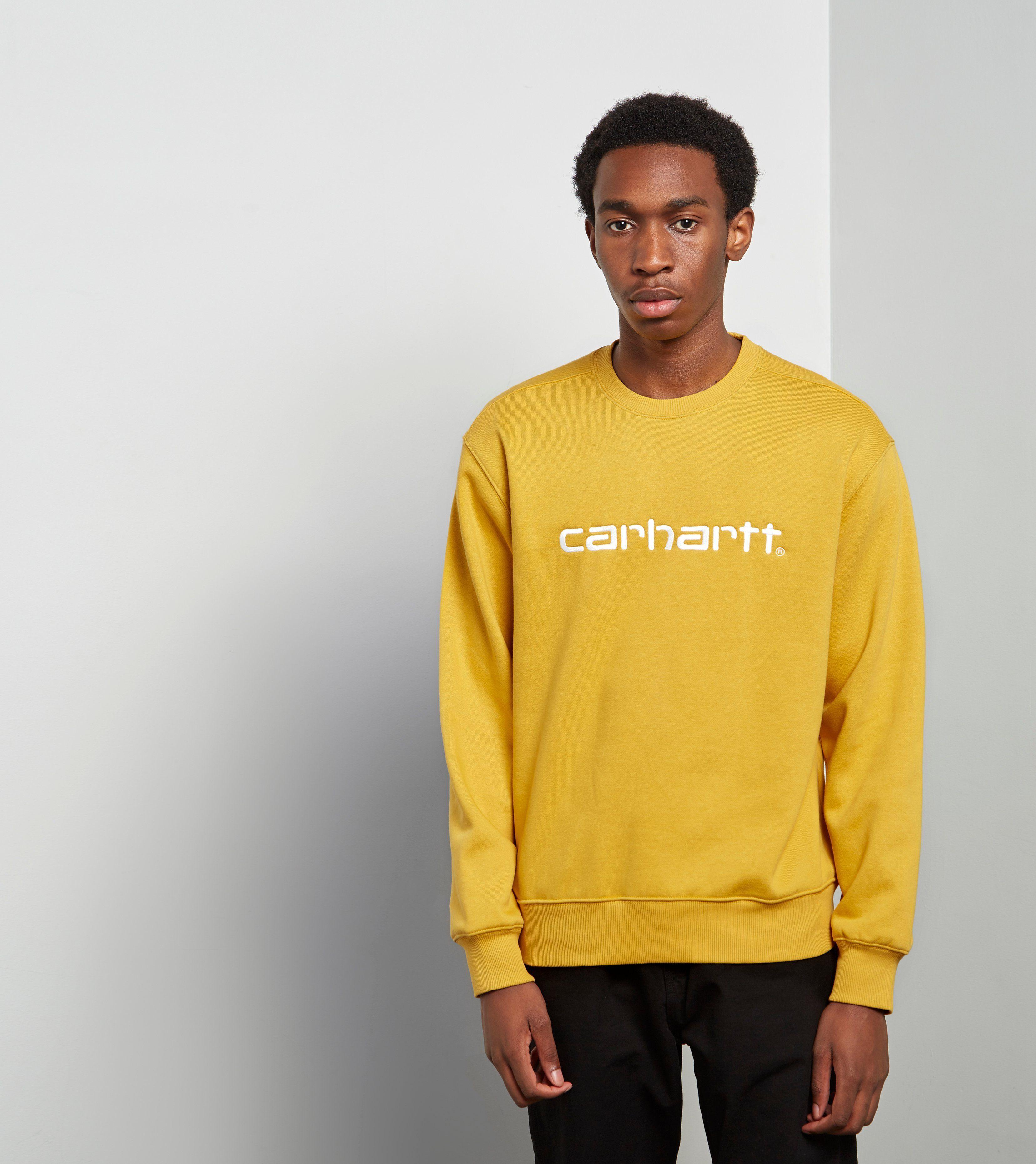 Carhartt Wip Script Sweatshirt Size Exclusive Sudaderas [ 3723 x 3314 Pixel ]