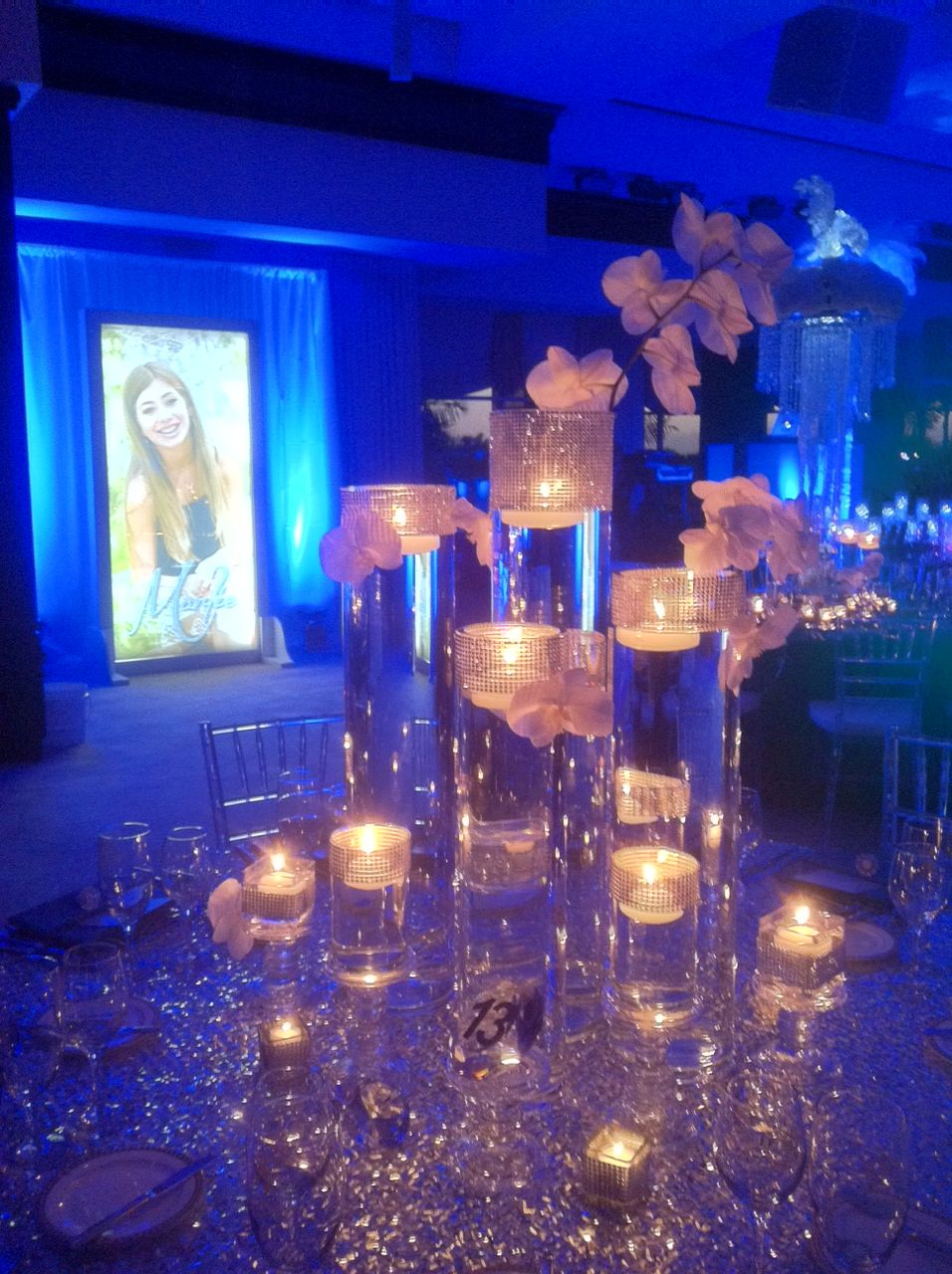 Denim Diamonds Themed Bat Mitzvah Event Decor Party Perfect Boca
