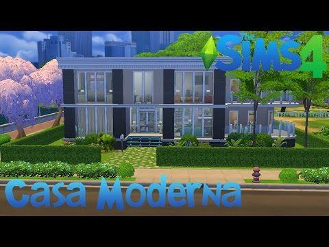 The Sims 4 | Construindo uma Casa Moderna #2 - YouTube