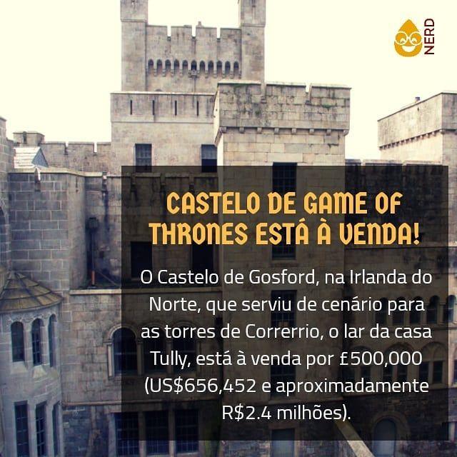 construído no século 19, o Castelo de Gosford inclui 15