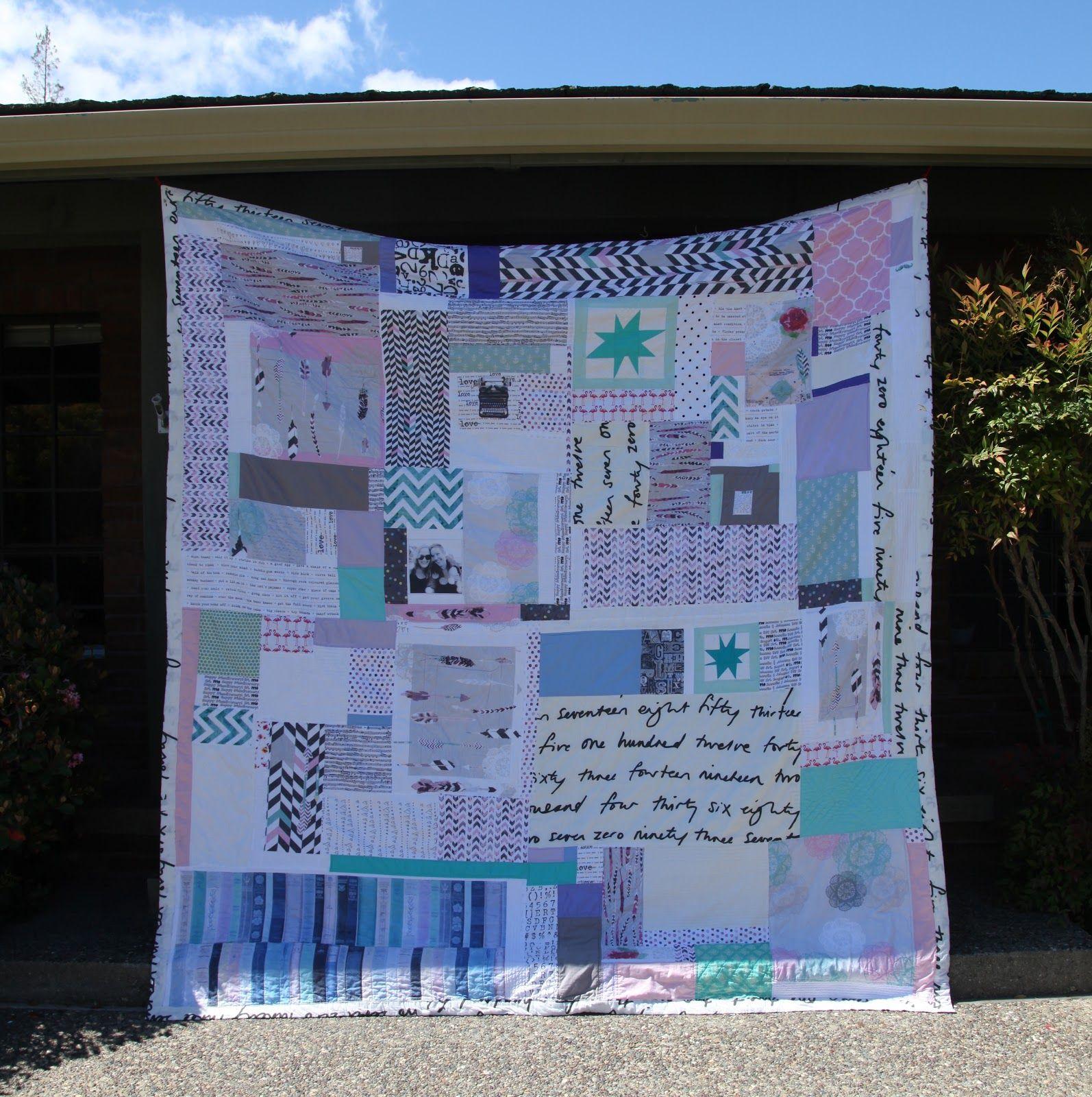 Oh. THAT Annelie... DIY Project Friendiversary Quilt