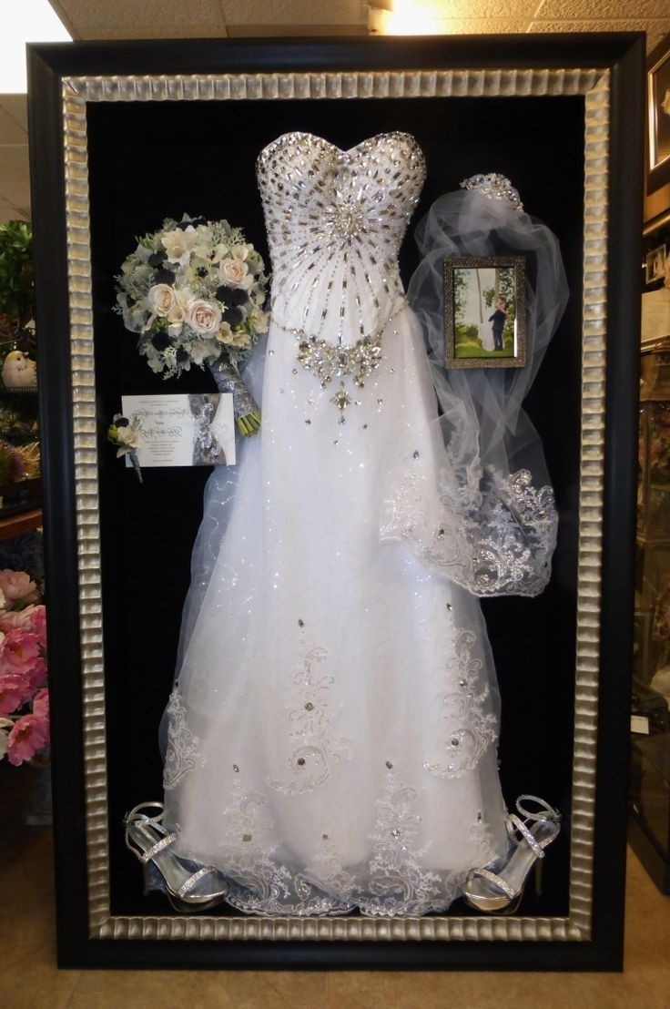 Adrienne Maloof Wedding Dress Display
