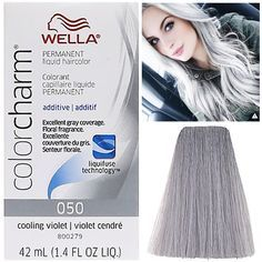 Wella color charm toner  or  silver hair grey also best images ideas colorful rh pinterest
