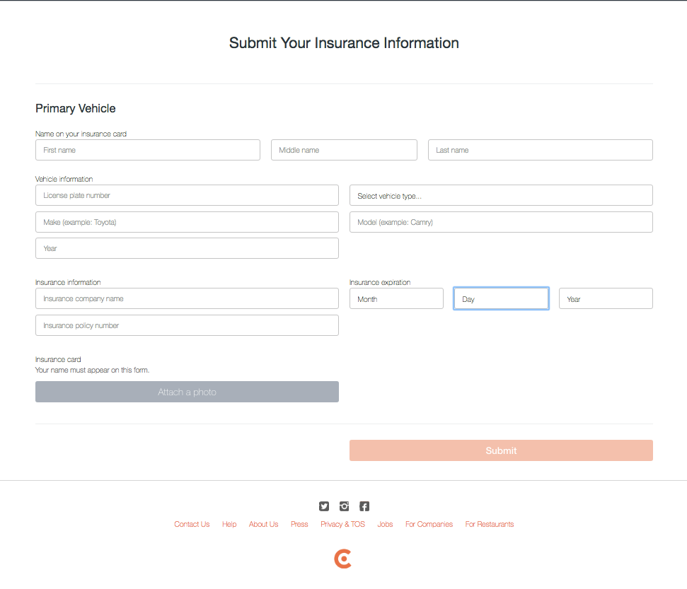 How Do I Submit Update Proof Of Vehicle Insurance Insurance Car