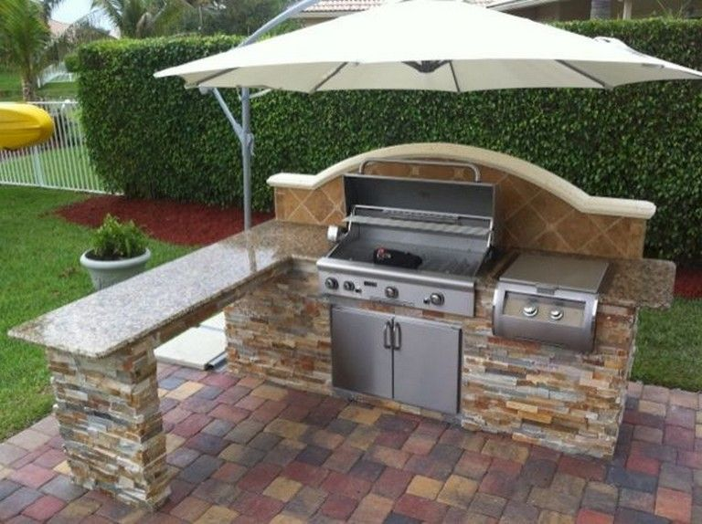 44+ Amazing Outdoor Kitchen Ideas On A Budget