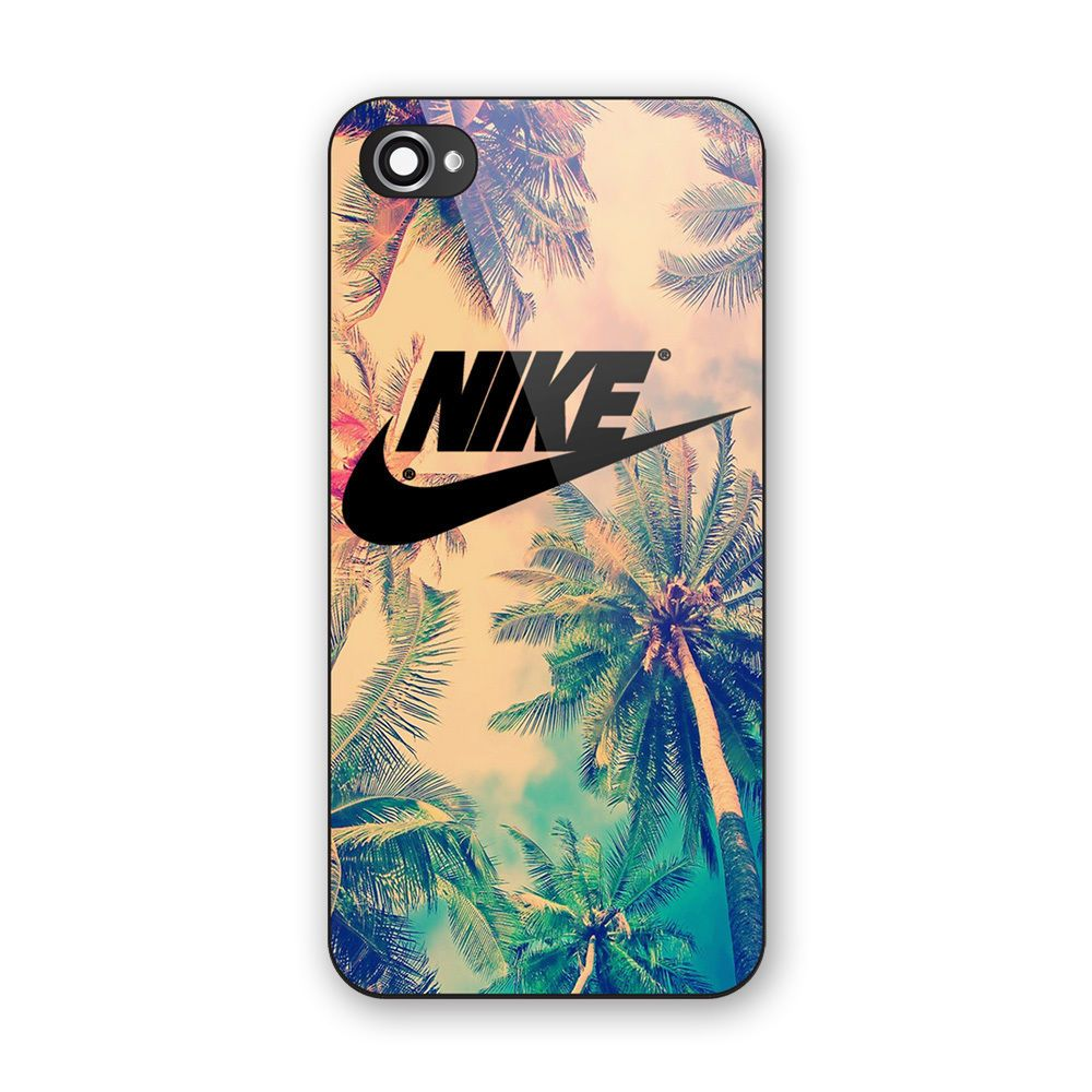 Connu Nike Air Logo Palm Tree Print On Hard Case Cover For iPhone 6s/6s  DI78