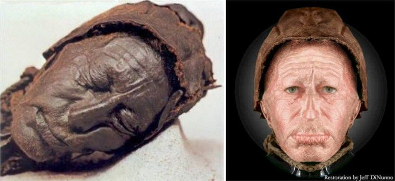 A mummy is a deceased human or an animal whose skin and organs have been preserved by either intentional or accidental exposure to chemicals extreme cold very low