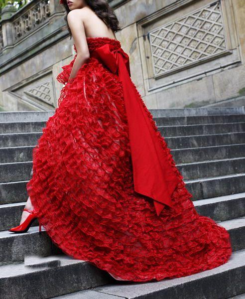 Dreamy Red Dress