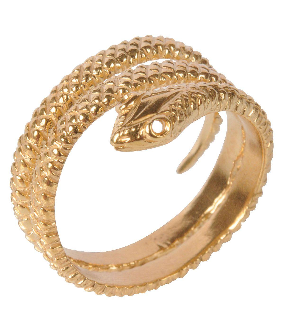 Mirabellle Jewellery Ltd: British Made Snake ring 22 Carat on Brass. Member Stand Number: Z24