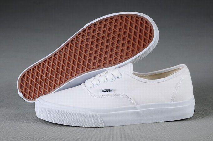 Vans Authentic Classic All White Men s Shoes  Vans  2069858497
