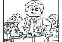 Lego Castle Coloring Pages
