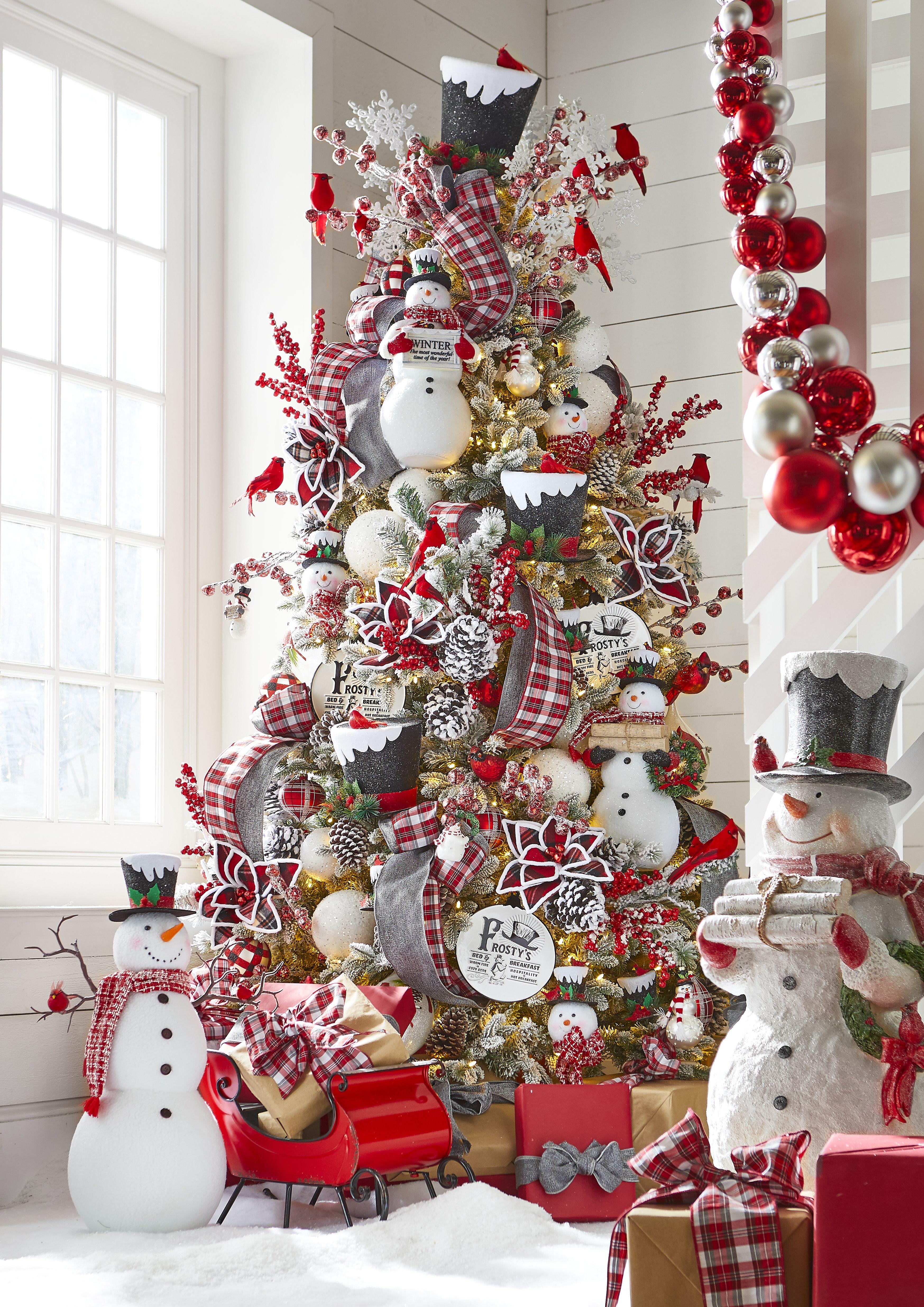 2020  Christmas Snowman Mister Snowman in 2020   Christmas tree inspiration, Elegant