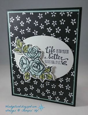 Windys Wonderful Creations Petal Palette Card Stampin Up Petal