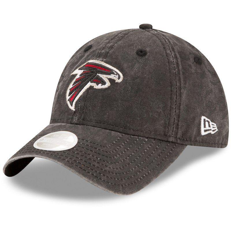 979c2c60 Atlanta Falcons New Era Women's Floral Peek 9TWENTY Adjustable Hat ...