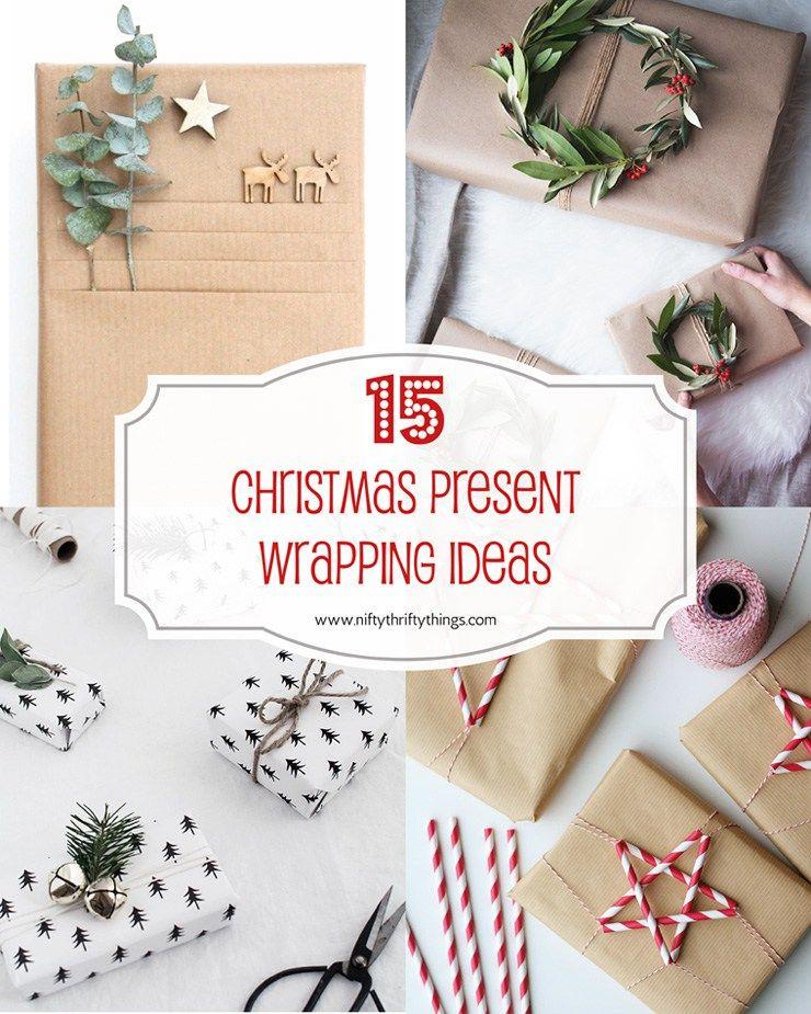 15 Christmas Present Wrapping Ideas Con Immagini