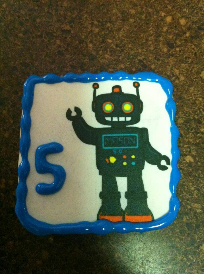 5th birthday custom cookie