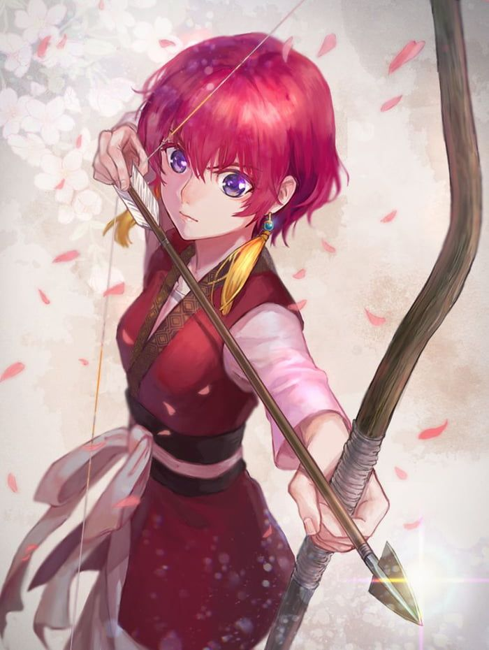Photo of Birthday waifu 04.07 (23) Yona (from Akatsuki no Yona) The sole princess of the Kouka Kingdom