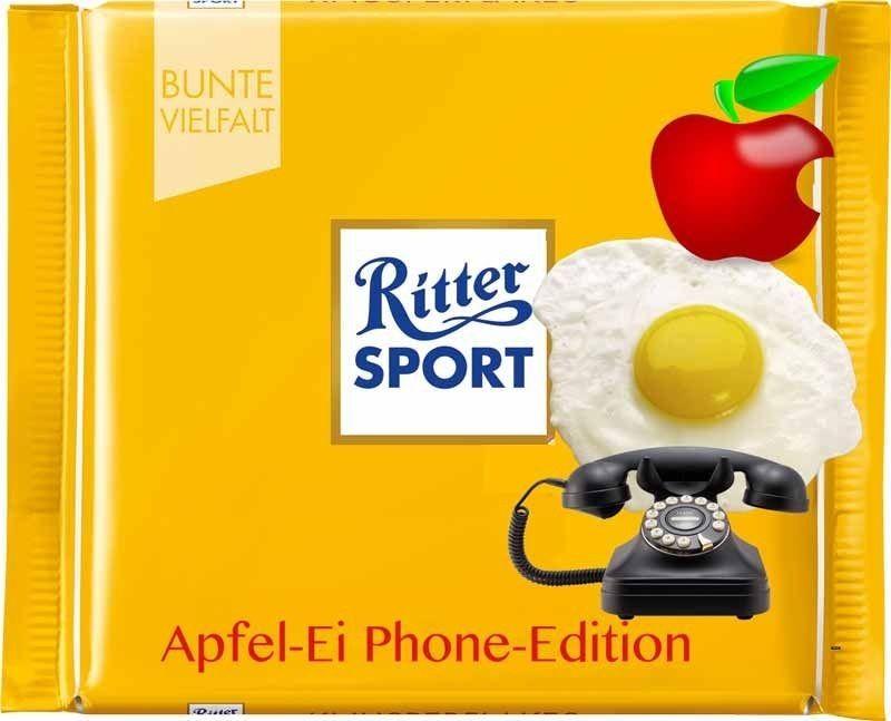 Photo of Ritter sport lustig lustig sprüche bild bilder. Eiphone IPhone Apple