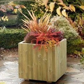 Shiverton Wooden Planter Xl Garden Planter Boxes Large 640 x 480
