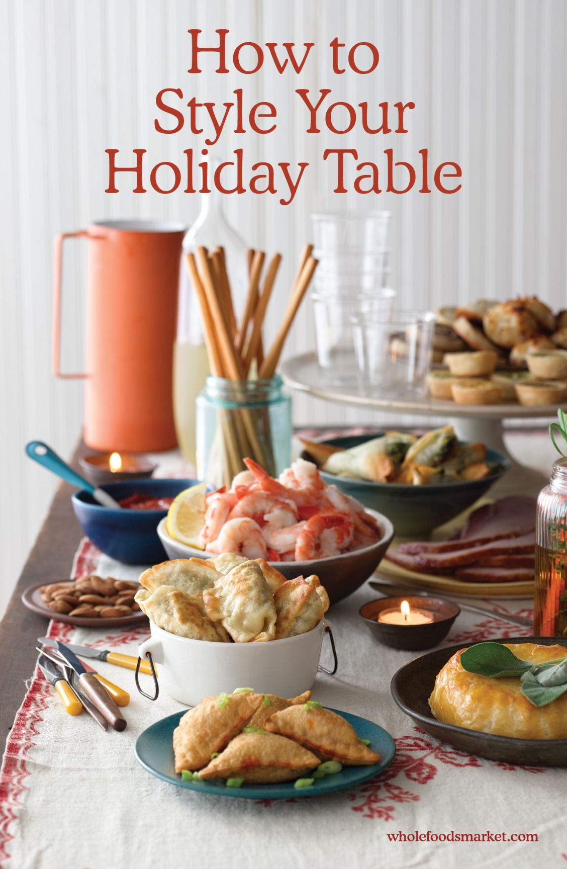 How to Set an Thanksgiving Table