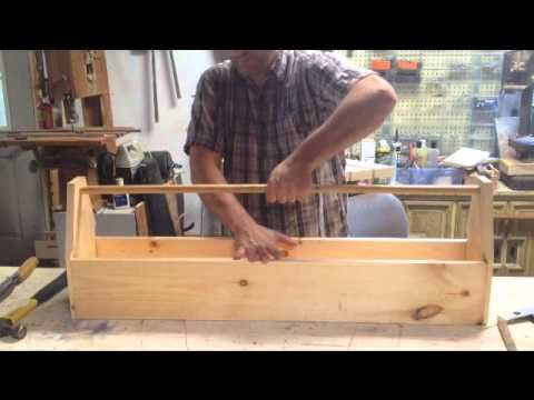 Make An Old Style Wood Carpenters Tool Box Wooden Signs